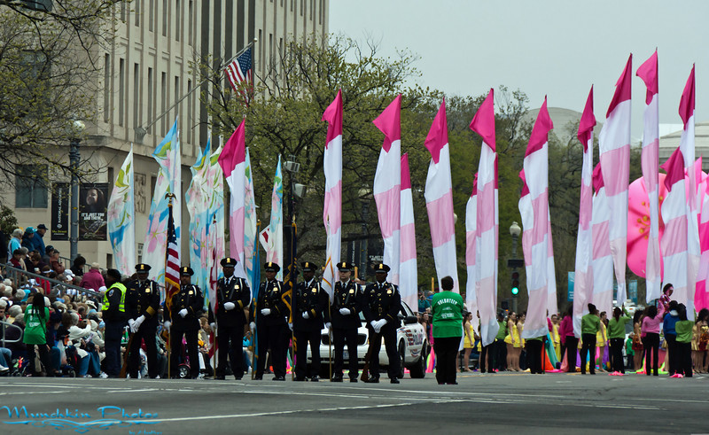 DC police kicking off the parade