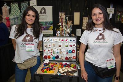 Women for Conservation: Sara Lara and Elizabeth Salaman of Warrenton, Va.  features sustainable tagua jewelry.