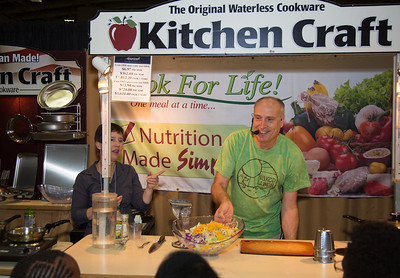 Kitchen Craft & Healthy Cooking Concepts-  Daniel Gilligan  Medea Galligan. Kitchen Craft Cookware, 100% American Made, vapor seal, waterless cookware company.