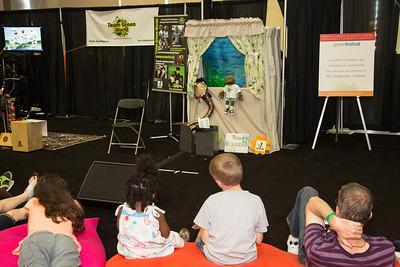 Puppet show Team Green World.org