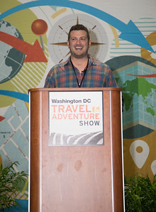 Lee Abbamonte, Washington D.C. Travel and Adventure Show