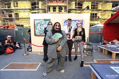 DECOM: Rolando's Art Booth 10-9-2016