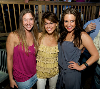 Christina, Nikki and Suzanne of Cincinnati  at Mt. Lookout Tavern for the DERF Happy Hour