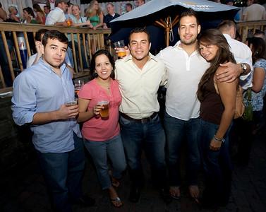 Ethan, Annette, Edgar, Jorge and Jen  at Mt. Lookout Tavern for the DERF Happy Hour