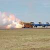 Jet Engine Propelled School Bus!