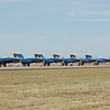 Blue Angels on the ground!