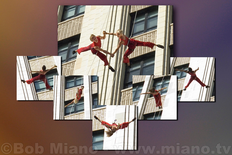 Bandaloop = Amazing!  This must be seen to be appreciated.