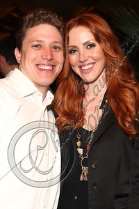 LOS ANGELES, CA - MAY 12:  Managing partners of Snuggg Management Brandon Wolsic (L) and Heather Wolsic attend E-Man's birthday celebration at The Writer's Room on May 12, 2012 in Los Angeles, California.  (Photo by Chelsea Lauren/WireImage)