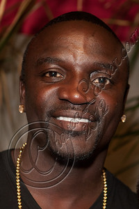 LOS ANGELES, CA - MAY 12:  Recording artist Akon attends E-Man's birthday celebration at The Writer's Room on May 12, 2012 in Los Angeles, California.  (Photo by Chelsea Lauren/WireImage)