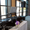 Pittsburgh Wedding DJ, Jason Rullo provides the entertainment and purple uplighting at the Duquesne Power Center, Pittsburgh PA on August 18, 2012 for Marcia and Eric's Wedding Celebration.