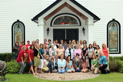 DLUMC 2012 Women's Retreat - Honey Lake Plantation