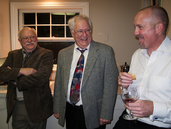 Uncle Bob, Uncle Cam and David Howie