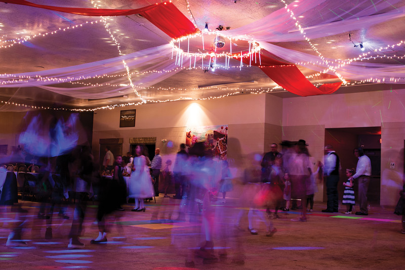 Matthew Gaston | The Sheridan Press<br>The 5th annual Daddy Daughter Dance hosted by Martin Luther Grammar School gave Fathers from all around Sheridan the opportunity to put their princesses on a pedstal, dance with their number one girl and most importantly; talk to their daughters Saturday, Feb. 2, 2019