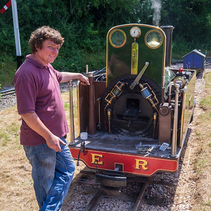 Cooking bacon in the steam engine