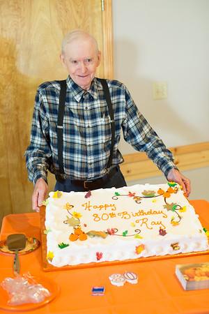 Dad's 80th