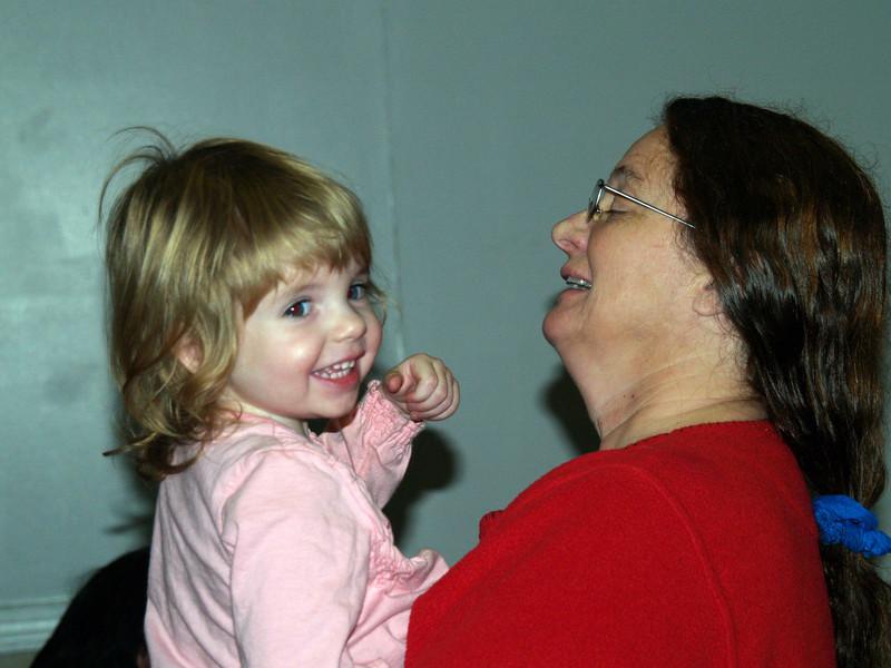 Hi Granny!  Renee and granddaughter