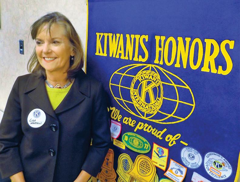Kiwanis, Liza Harmon