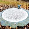 Winter birdbath