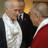 Oct.30th,2007. Ottawa,Ontario,Canada. His Holiness the 14th Dalai Lama, meets with the heads of the opposition parties, Jack Layton, Stephane Dion. Gilles Duceppe<br /> (Credit Image: © Chris Kralik/KEYSTONE Press)