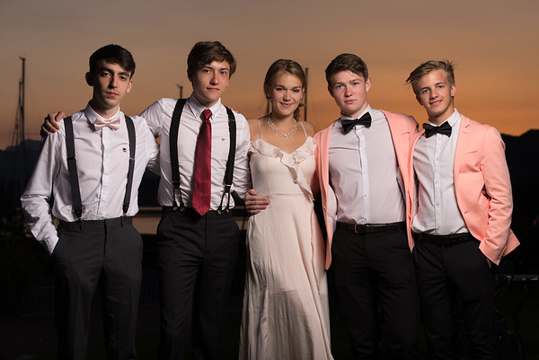 School leavers ball and school prom photos