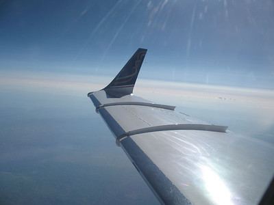 A bit better picture of that wing and wingtip extension with a bit less sun glare.