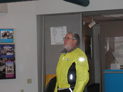 Even Brian (Acacia) Gurney is awe-struck by the Hobby-Eberly telescope video presentation...