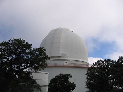 Another of the incredible telescopes at the McDonald Observatory.