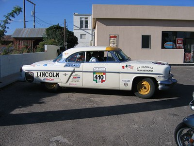 A fantastic replica of one of the 1950's Lincoln Continental's that won the infamous Pan American road races in Mexico, defeating Ferrari's, Jaguar's, Mercedes-Benz's, etc. This thing was immaculate, and had a true racing interior. Awesome!