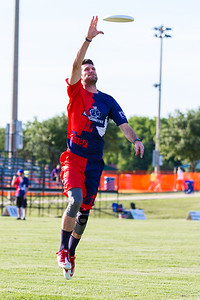 The Dallas Roughnecks take on the Jacksonville Cannons at the Five Star Complex in The Colony, Texas. (Photo by Sam Hodde/Hodde Visuals)