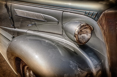 1938 Chevy Two Door Sedan from the car show at the Dan Emmett Music and Arts Festival in Mount Vernon, Ohio. Photographed on August 12, 2012.