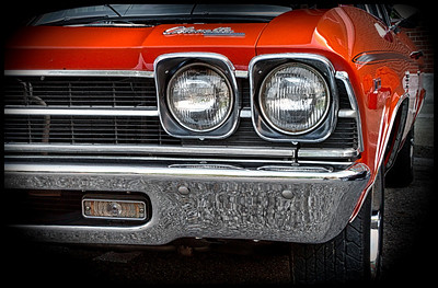 1969 Chevy Chevelle from the car show at the Dan Emmett Music and Arts Festival in Mount Vernon, Ohio. Photographed on August 12, 2012.
