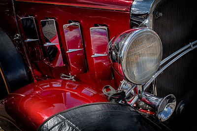 1932 Chevy Sedan from the car show at the Dan Emmett Music and Arts Festival in Mount Vernon, Ohio. Photographed on August 12, 2012.