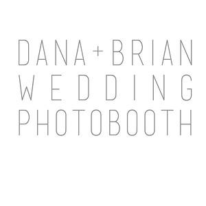 Dana and Brian's Wedding Photobooth