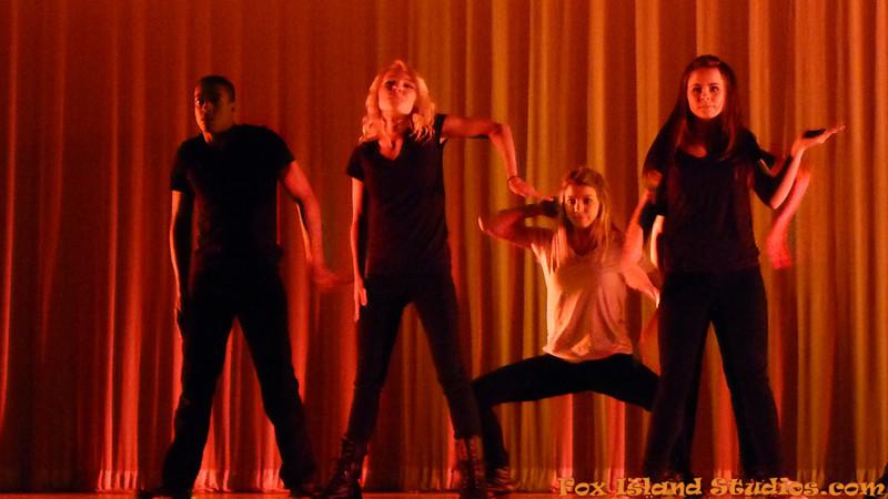 Dance Blast 2013 Curtis High School with Sydney Russell