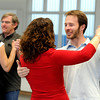"""Will Clift, right, smiles as he dances with Rachel Kleinfeld on Saturday, Jan. 7, during Dance Days at the East Boulder  Community Center. For more photos and video of the event go to  <a href=""""http://www.dailycamera.com"""">http://www.dailycamera.com</a><br /> Jeremy Papasso/ Camera"""