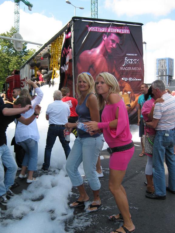 Foam on the street