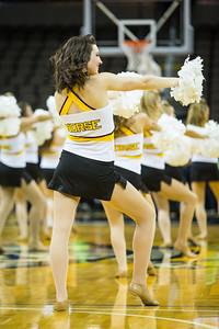 NKU Dance and Cheer Team 1-29-2015