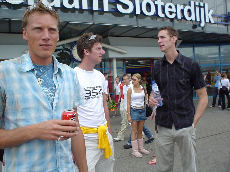 Arjen, Jeroen and Raymond