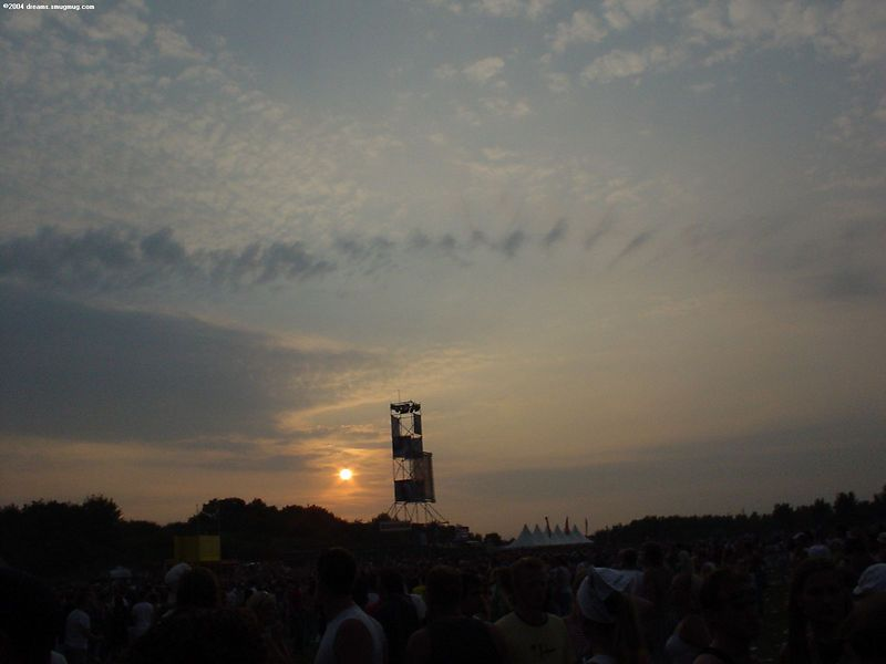 Sunset over Dance Valley