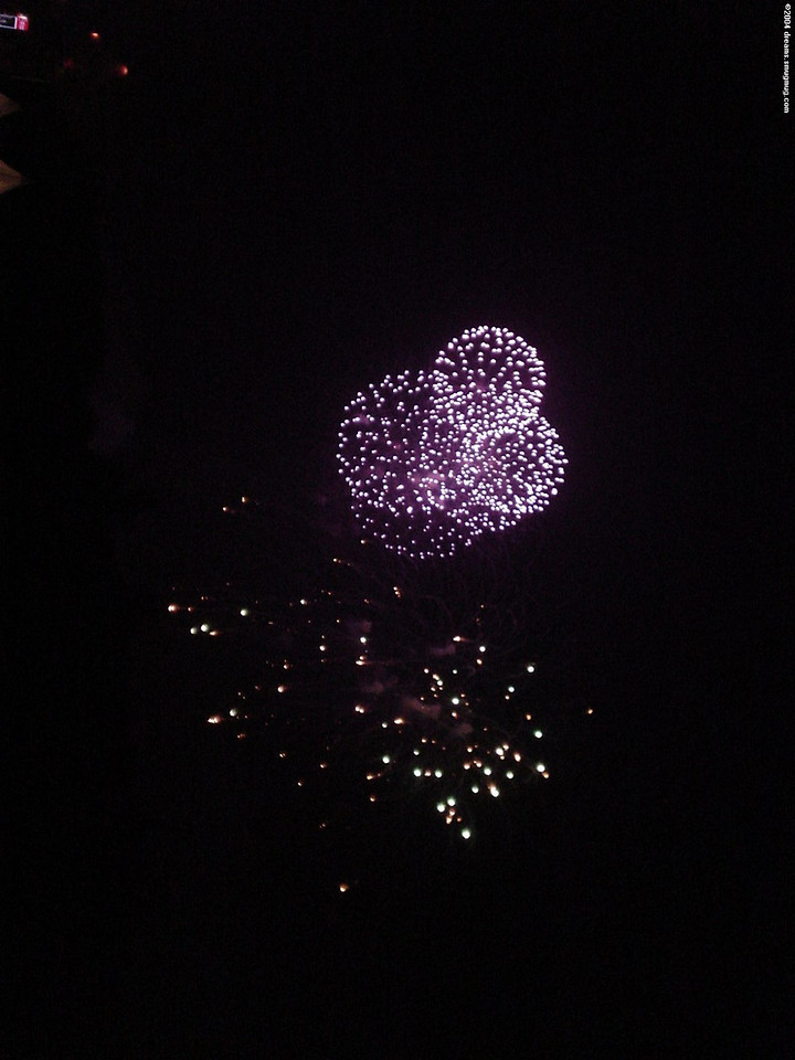 Closing fireworks