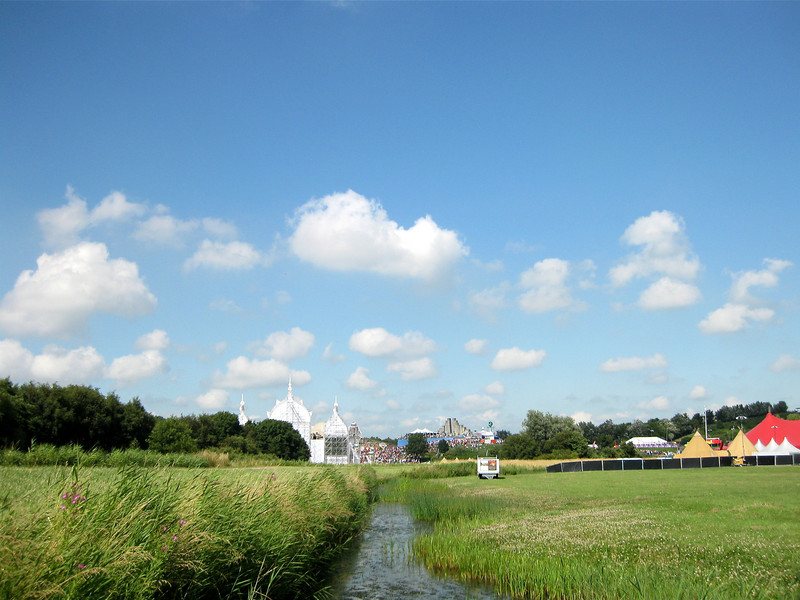 "DV is set-up in the fields of a big recreational area called ""Spaarnwoude"" near Amsterdam"