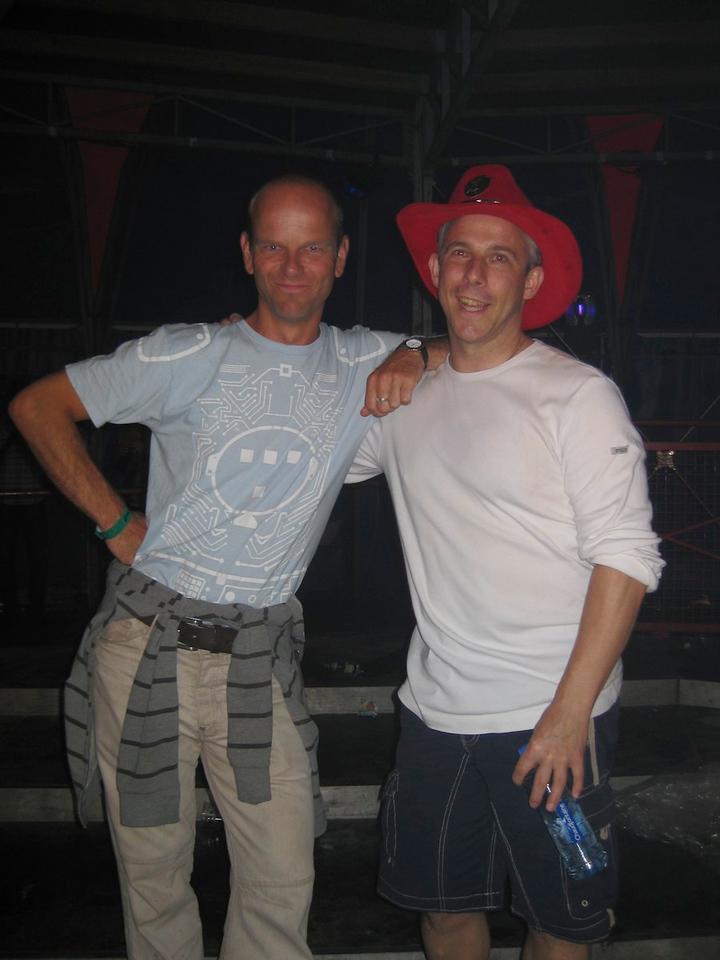 Martin and I