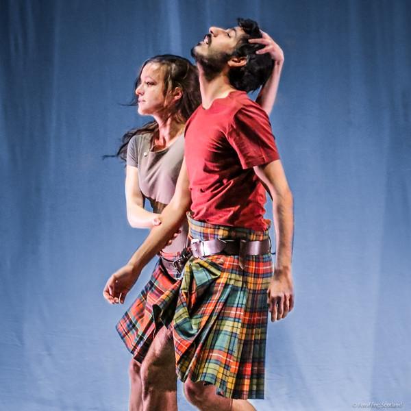 Rehearsal David Hughes' new work 'Drei Seelen' (Three Souls)