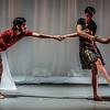 Rehearsal of new work by David Hughes  'Drei Seelen' - David Hughes Dance Autum Tour 2014