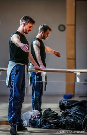 David Hughes Dance - Rehearsal