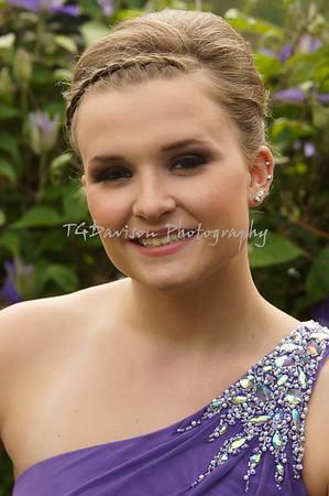 sarah prom pics 2015