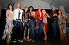 "BONITA SPRINGS, FL, March 6, 2010: From left, Boston Red Sox players Lars Anderson, Mark Wagner, Michael Bowden and Ryan Kalish and their partners pose with their trophies following the ""Dancing with the New Stars"" charity dance contest. (Brita Meng Outzen/Boston Red Sox)"