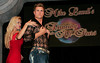"BONITA SPRINGS, FL, March 1, 2008: Boston Red Sox pitcher Jonathan Papelbon and his dance partner are all business as they take the stage for  the ""Dancing with the All-Stars"" dance contest to benefit the Mike Lowell Foundation and the Red Sox Foundation. (Brita Meng Outzen/Boston Red Sox)"