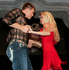 "BONITA SPRINGS, FL, March 1, 2008: Boston Red Sox pitcher Jonathan Papelbon and his partner perform their dance routine during the ""Dancing with the All-Stars"" dance contest to benefit the Mike Lowell Foundation and the Red Sox Foundation. (Brita Meng Outzen/Boston Red Sox)"