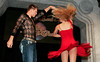 "BONITA SPRINGS, FL, March 1, 2008: Boston Red Sox pitcher Jonathan Papelbon twirls his dance partner during the ""Dancing with the All-Stars"" dance contest to benefit the Mike Lowell Foundation and the Red Sox Foundation. (Brita Meng Outzen/Boston Red Sox)"